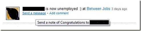 LinkedIn Status Message Funny