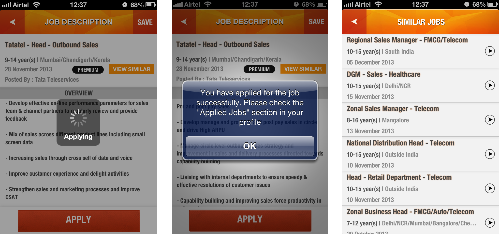 The New Iimjobs Com Mobile App For Android Ios Jobber S Park