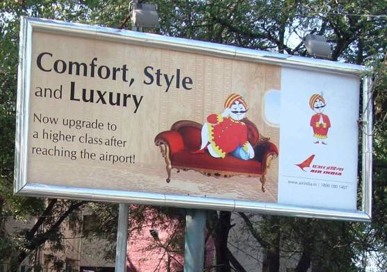 Air India Brand character